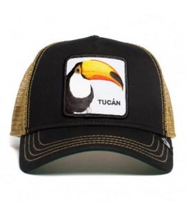 Gorra goorin bros con parche de tucán en color negro en la tienda online chemasport.es
