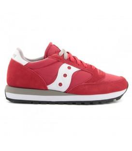 zapatillas saucony jazz original vintage en color rojo para hombre al mejor precio en tu tienda online chemasport.es