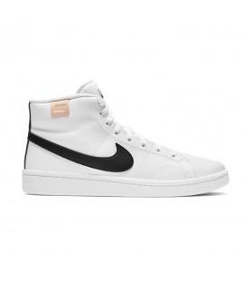 zapatillas nike court royale 2 mid en color blanco-negro al mejor precio en tu tienda online chemasport.es