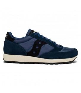 zapatillas saucony jazz original vintage en color azul marino para hombre al mejor precio