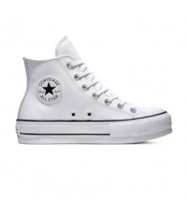 Zapatillas Converse Chuck Taylor All Star –OX para mujer en color blanco disponible en tu tienda online www.chemasport.es