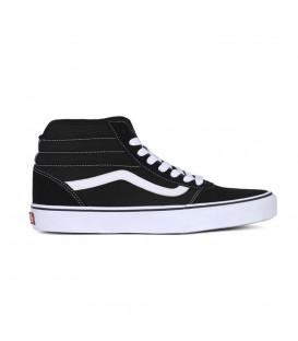 Zapatillas Vans Ward Hi para mujer en color negro disponible en tu tienda online www.chemasport.es