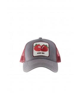 Gorra Cocowi Kiss me in unisex en color rojo y gris disponible en tu tienda online www.chemasport.es
