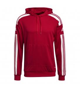 Sudadera Adidas Hood para hombres en color rojo disponible en tu tienda online www.chemasport.es