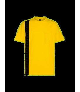 Camiseta Kappa Ecop para hombre de color amarillo disponible en tu tienda online www.chemasport.es