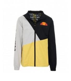 Chaqueta Ellesse Pablo para hombre en negro, gris y amarillo disponible en tu tienda online www.chemasport.es