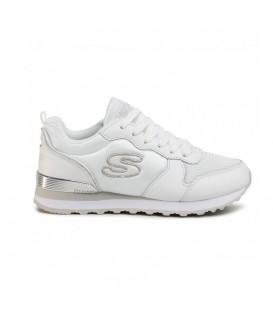 Zapatillas de caminar para mujer Skechers Retros-OG color blanco al mejor precio en tu tienda de deportes online chemasport.es