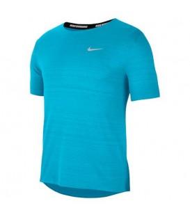 Compra ahora la camiseta Nike Dri-FIT Miler para hombre en color azul disponible en tu tienda online de deportes www.chemasport.es al mejor precio. Tienda física en Pontevedra.