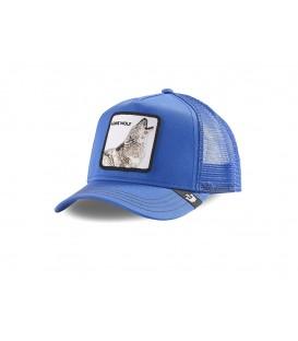 gorra goorin bros strong wolf en color azul al mejor precio