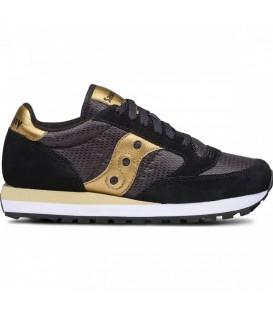 Zapatillas Saucony Shadow Original para mujer de color negro y dorado en tu tienda online de deportes www.chemasport.es al mejor precio.