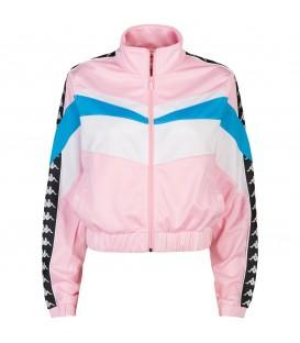 Chaqueta Kappa Esta para mujer de color rosa en tu tienda online de deportes www.chemasport.es al mejor precio.