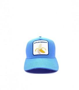 Gorra Cocowi Let's Go Bananas unisex de color azul en tu tienda online de deportes www.chemasport.es al mejor precio.