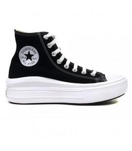 Zapatillas Converse Move Platform de plataforma en color negro para mujer al mejor precio en tu tienda online de moda sportwear www.chemasport.es
