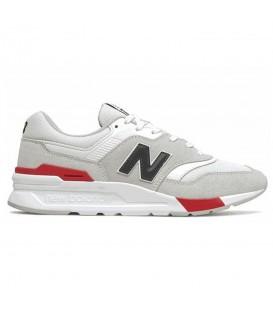 zapatillas new balance 997 para hombre en color blanco al mejor precio en tu tienda online chemasport.es