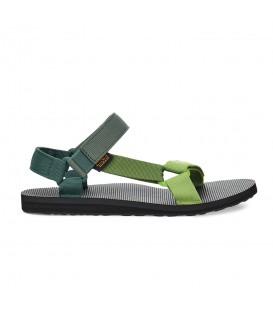 sandalia teva original universal para hombre en color verde al mejor precio en tu tienda online chemasport.es