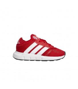 Zapatillas Adidas Swift Run X para niños en color rojo disponible en tu tienda online de moda y deportes www.chemasport.es