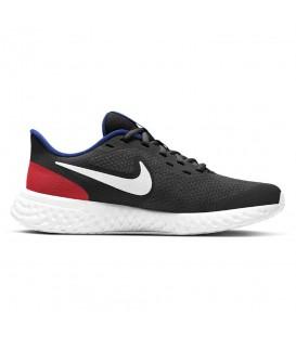 zapatillas nike revolution w en color negro y rojo para mujer y niño al mejor precio en tu tienda online chemasport.es