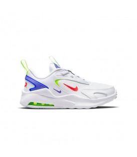 zapatillas nike air max bolt para niño en color blanco al mejor precio