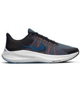 zapatillas nike winflo 8 para hombre de running en color negro al mejor precio