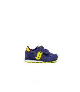 Zapatillas Saucony Jazz Original en color azul marino y amarillo disponible al mejor precio en tu tienda online de calzado de moda sportwear www.chemasport.es