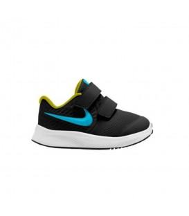Zapatillas nike star runner para niño con cierre de velcro en color negro al mejor precio