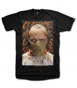 Camiseta Leg3nd Lecter unisex en color negro disponible al mejor precio en tu tienda online de moda, accesorios y deportes www.chemasport.es
