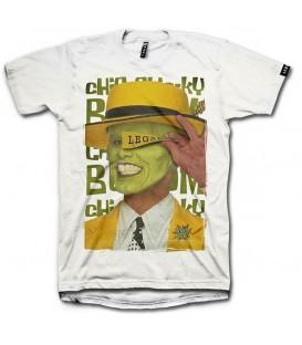 Camiseta Leg3nd The Mask unisex en color blanco disponible al mejor precio en tu tienda online de moda, accesorios y deportes www.chemasport.es