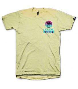 Camiseta Leg3nd Vice unisex en color amarillo disponible al mejor precio en tu tienda online de moda, accesorios y deportes www.chemasport.es