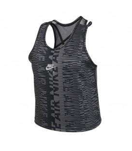 camiseta Nike Air printed en color negro para mujer al mejor precio en tu tienda online chemasport.es
