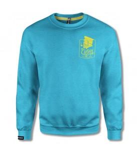 Sudadera leg3nd verano azul unisex en color azul al mejor precio en tu tienda online chemasport.es
