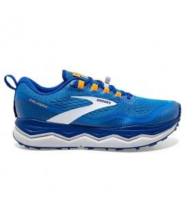 Zapatillas brooks caldera 5 de trail para hombre en color azul al mejor precio