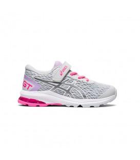 Zapatillas Asics Gt-1000 9 Ps para niña en color gris disponible en tu tienda online de moda, accesorios y deportes www.chemasport.es