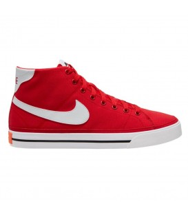 zapatillas nike court legacy mid en color rojo unisex al mejor precio en tu tienda online chemasport.es