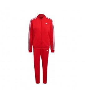 Chándal Adidas W 3S TR TS para mujer en color rojo disponible al mejor precio en tu tienda online de moda y deportes www.chemasport.es