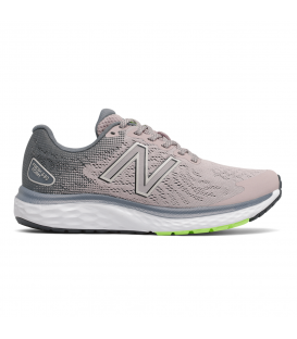 Zapatillas New Balance W680 para mujer en color rosa disponible al mejor precio en tu tienda online de moda y deportes www.chemasport.es