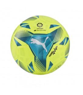Balón Puma de fútbol La Liga 2021/22 en color verde disponible al mejor precio en tu tienda online de moda, accesorios y deportes www.chemasport.es