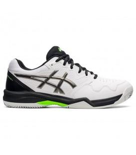 zapatillas asics gel dedicate clay 7 para hombre en color blanco de padel al mejor precio en chemasport