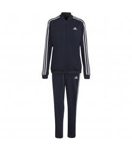 Chándal Adidas W 3S TR TS para mujer en color azul marino disponible al mejor precio en tu tienda online de moda y deportes www.chemasport.es