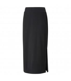 falda puma her skirt para mujer en color negro al mejor precio disponible en tu tienda de deportes y moda www.chemasport.es