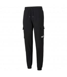 pantalón puma power cargo para hombre en color negro al mejor precio disponible en tu tienda de deportes y moda www.chemasport.es