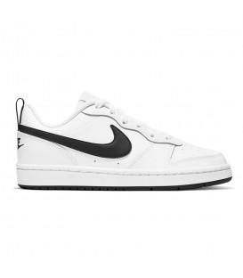 Zapatillas Nike Court Borough Low 2 para mujer de color blanco disponible al mejor precio en tu tienda online de moda y deportes www.chemasport.es