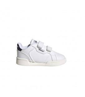 Zapatillas Adidas Roguera I para niño en color blanco disponible al mejor precio en tu tienda online de moda y deportes www.chemasport.es