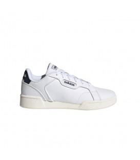 Zapatillas Adidas Roguera J para niño en color blanco disponible al mejor precio en tu tienda online de moda y deportes www.chemasport.es