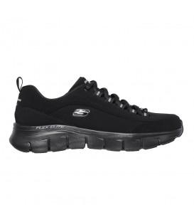 Zapatillas Skechers Synergy 3.0 para mujer en color negro disponible al mejor precio en tu tienda online de moda y deportes www.chemasport.es