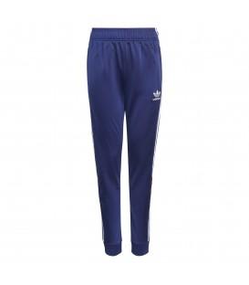 Pantalones Adidas Original SST Track Pants para niño en color azul marino disponible al mejor precio en tu tienda online de moda y deportes www.chemasport.es
