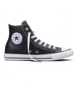 Zapatillas Converse Chuck Taylor All Star OX unisex en cuero negro disponible al mejor precio en tu tienda online de moda y estilo urbano www.chemasport.es