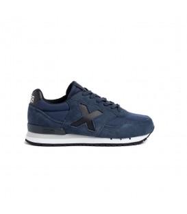 Zapatillas Munich Dash Kid 104 para niño en color azul marino disponible al mejor precio en tu tienda online de moda y deportes www.chemasport.es