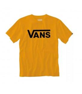 Camiseta Vans Classic MN para hombre en color mostaza disponible al mejor precio en tu tienda online de moda y deportes www.chemasport.es