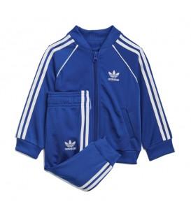 Chándal de Adidas SST Tracksuit para bebe en color azul disponible al mejor precio en tu tienda online de moda y deportes www.chemasport.es