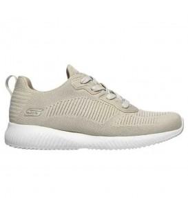 Zapatillas Skechers Bobs Squad para mujer en color beis disponible al mejor precio en tu tienda online de moda y deportes www.chemasport.es